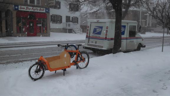 Can you keep biking Buffalo during winter?