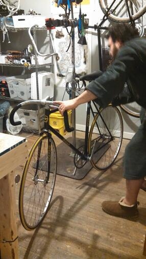 How we make bikes part of our homelife